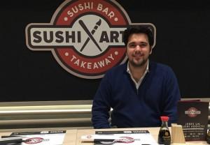 David Santin - sushi artist