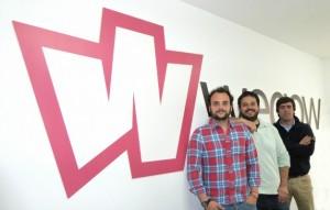 equipo de Wegow en la oficina