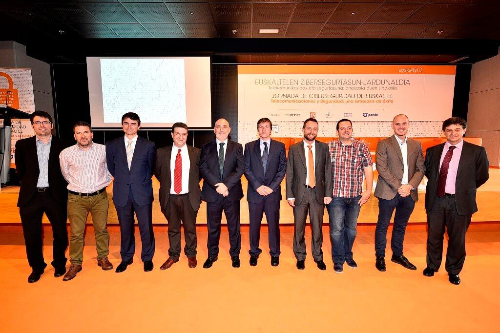 Euskaltel reunió a un buen número de especialistas en sistemas de seguridad