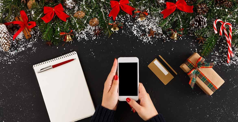 Compras navideñas online