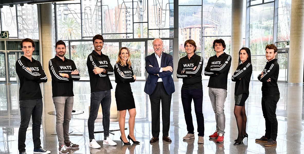 WATS Team eta Euskaltel Taldea kiroleko indarkeriaren aurka
