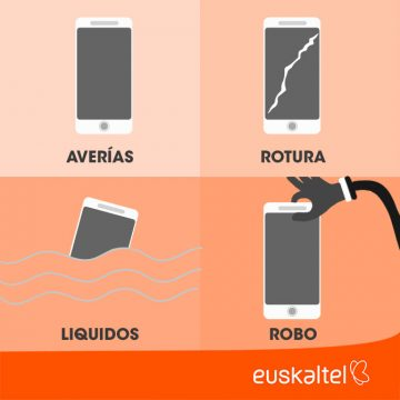 Asegura tu nuevo móvil Euskaltel