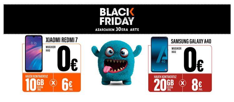 KIN KON Eskaintza Black Friday