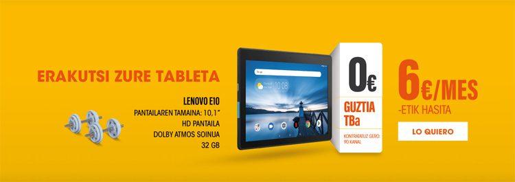 Google Home edo Lenovo tableta opari, telebistako aukeretan