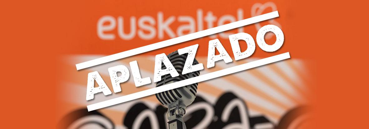 Aplazadas las Noches de Risas by Euskaltel en Donosti