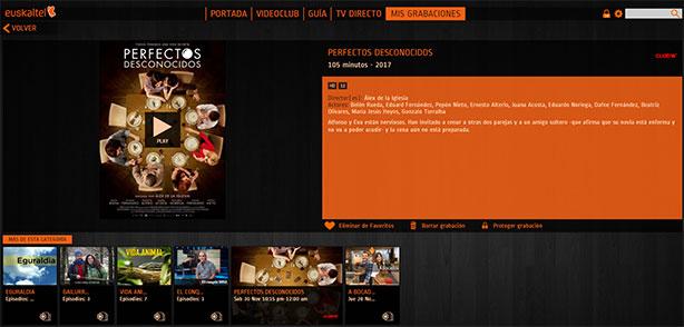 TV gratuita Edonon Grabaciones