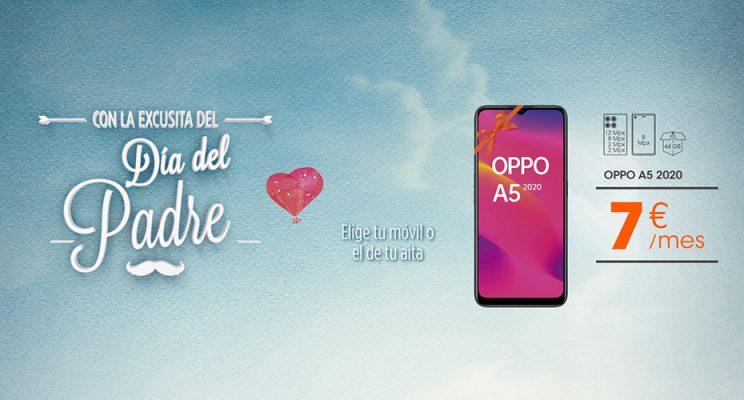Mes del móvil en Euskaltel Día del Padre