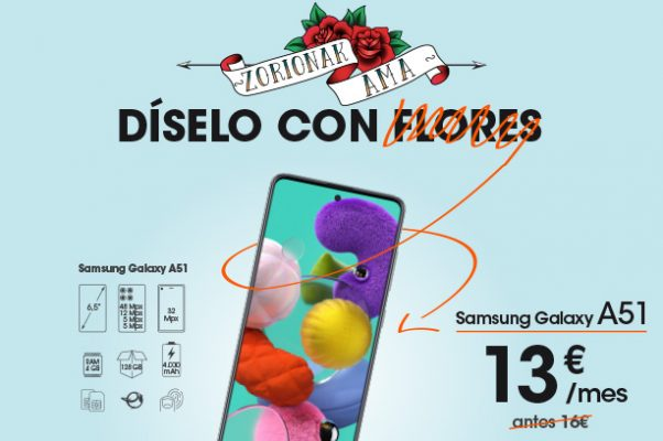 Planes para celebrar en casa el Día de la Madre Samsung Galaxy A51