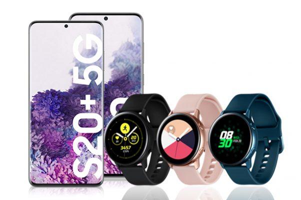 Los wereables más buscados están en Euskaltel Galaxy Watch Active