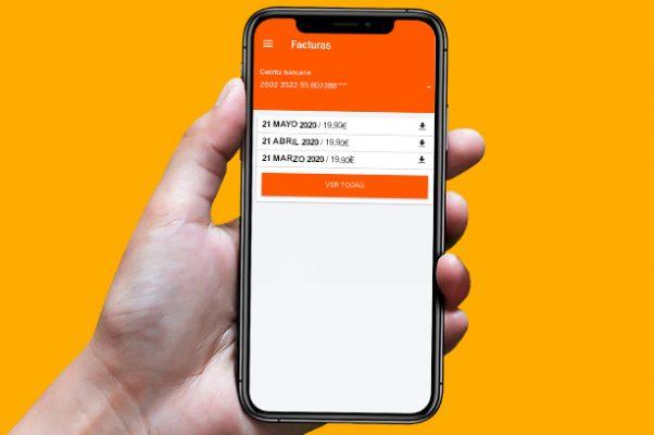 ¿Qué servicios puedes gestionar desde la App de clientes de Euskaltel? Gestionar factura