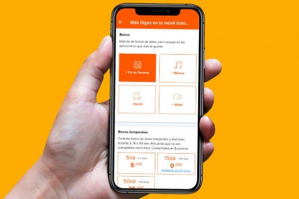 ¿Qué servicios puedes gestionar desde la App de clientes de Euskaltel? Gestionar móvil