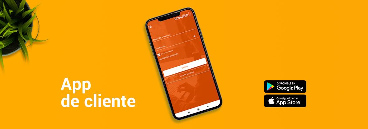 ¿Qué servicios puedes gestionar desde la App de clientes de Euskaltel?