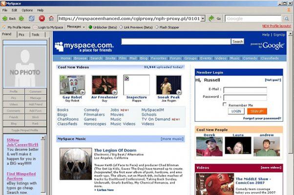 ¿Te acuerdas de las primeras redes sociales? MySpace