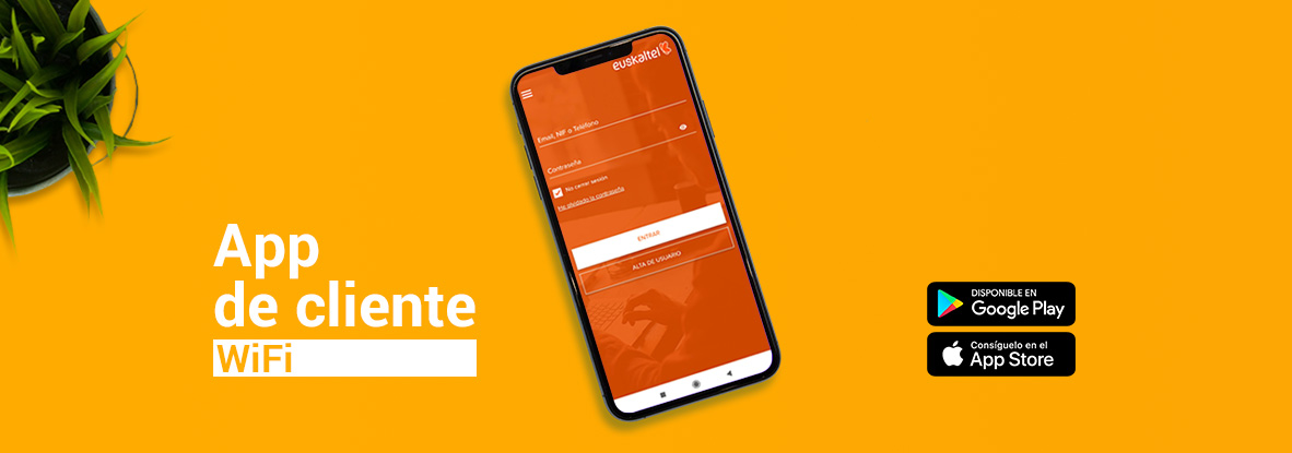 Configura la red WiFi desde tu App Euskaltel