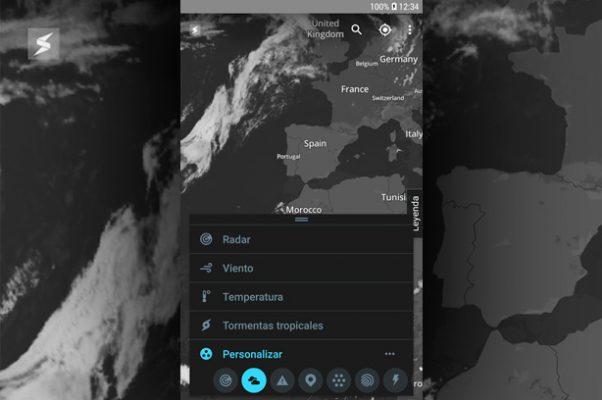 Apps imprescindibles para hacer rutas por Euskadi Storm Radar