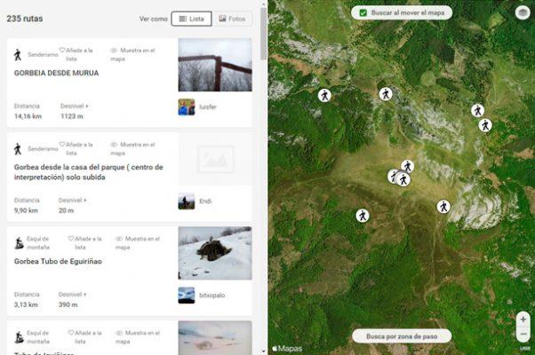 Apps imprescindibles para hacer rutas por Euskadi Wikiloc