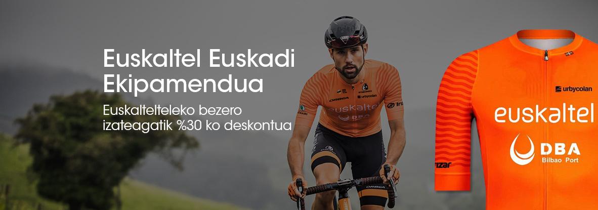 Euskaltelen bezero izateagatik, eskuratu Euskaltelen ekipamendua deskontu izugarri batekin