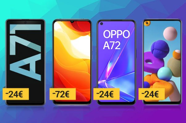 Superofertas de móviles Euskaltel en octubre: gama media