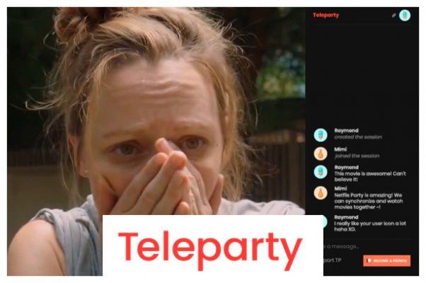 Extensiones para tu navegador: Teleparty