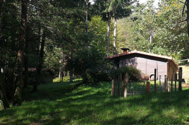 Cabañas en los árboles, Leintz Gatzaga
