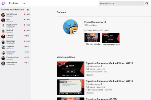 Twitch Euskaltel Encounter