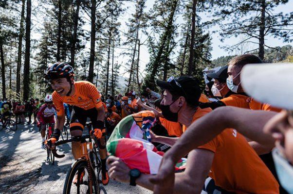 Itzulia marea naranja Euskaltel