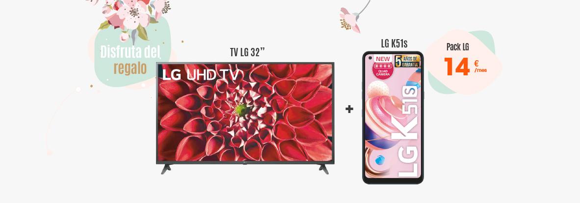 Llévate en Euskaltel un pack de televisor y móvil LG y aprende a conectarlos