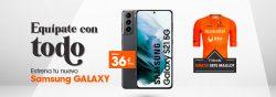 Llévate gratis la camiseta del Euskaltel Euskadi con los Samsung Galaxy S21 y S21+