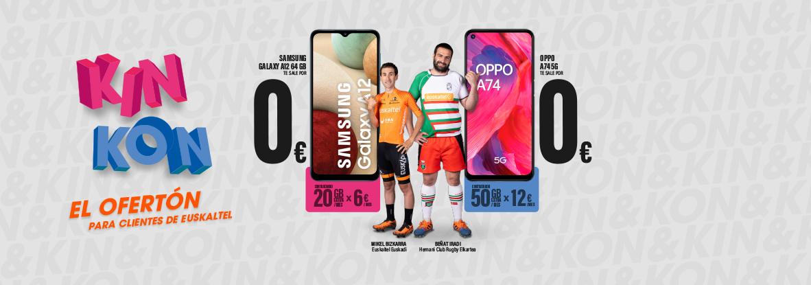 Aumenta tus datos en Euskaltel y llévate un móvil de regalo