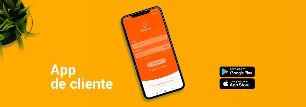 La App de cliente de Euskaltel crece contigo