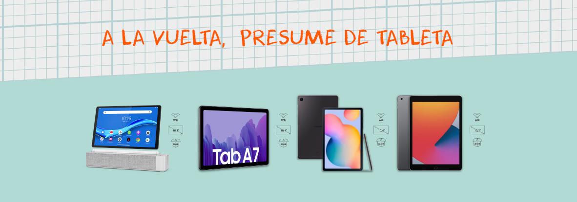 Ventajas de equiparte con una tablet en Euskaltel para la vuelta al cole