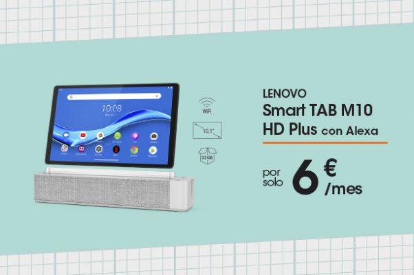Lenovo Smart Tab M10 HD+ con Alexa