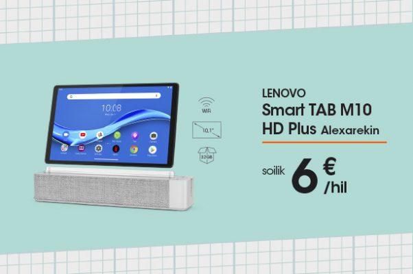 Lenovo Smart Tab M10 HD+, Alexarekin