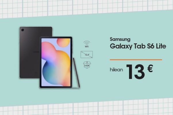 Samsung Galaxy Tab S6 Lite wifiduna (S Pen)